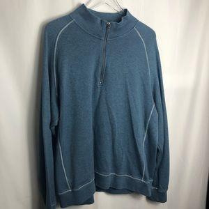 LL Bean Men's Stonecoast Quarter-Zip Pullover 0218